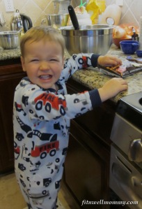"My little ""baking assistant!"""