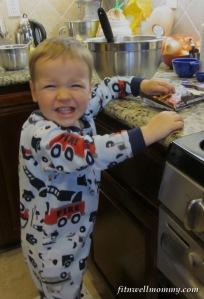 "My little ""baking assistant!"""