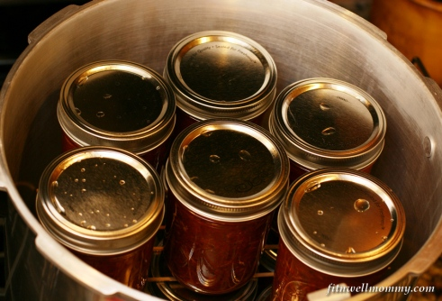 Lots and lots of jars of pasta sauce!